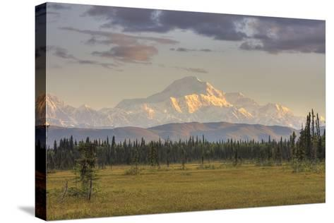 Scenic View of Mount Mckinley, Alaska-Design Pics Inc-Stretched Canvas Print