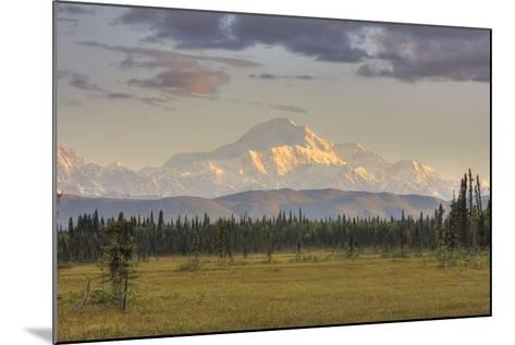 Scenic View of Mount Mckinley, Alaska-Design Pics Inc-Mounted Photographic Print