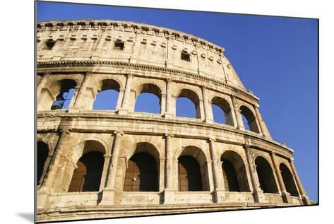The Colosseum and Blue Sky, Close Up-Design Pics Inc-Mounted Photographic Print