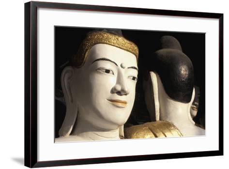 Buddhas at Shwedagon Paya, Close Up-Design Pics Inc-Framed Art Print