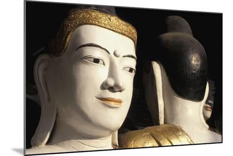 Buddhas at Shwedagon Paya, Close Up-Design Pics Inc-Mounted Photographic Print