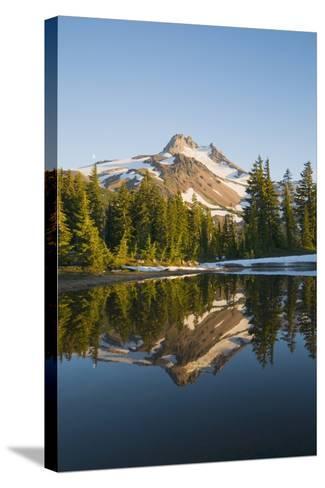 Mount Jefferson, Oregon, USA-Design Pics Inc-Stretched Canvas Print
