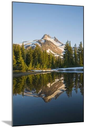Mount Jefferson, Oregon, USA-Design Pics Inc-Mounted Photographic Print