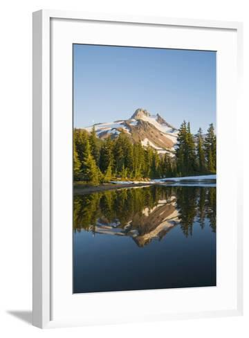 Mount Jefferson, Oregon, USA-Design Pics Inc-Framed Art Print