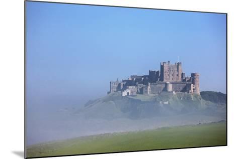 Bamburgh Castle in the Fog; Bamburgh Northumberland England-Design Pics Inc-Mounted Photographic Print