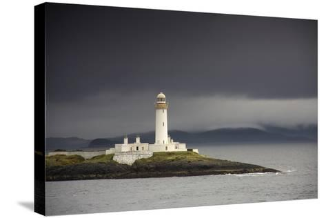 A Lighthouse; Eilean Musdile in the Firth of Lorn,Scotland-Design Pics Inc-Stretched Canvas Print