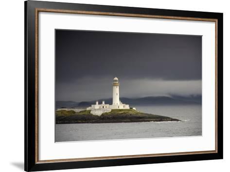 A Lighthouse; Eilean Musdile in the Firth of Lorn,Scotland-Design Pics Inc-Framed Art Print