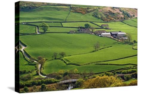 Farmland of North York Moors National Park-Design Pics Inc-Stretched Canvas Print