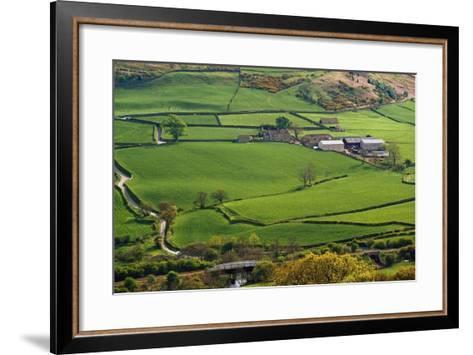 Farmland of North York Moors National Park-Design Pics Inc-Framed Art Print