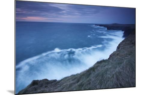 Cliffs and Coastline of Loop Head; County Clare Ireland-Design Pics Inc-Mounted Photographic Print