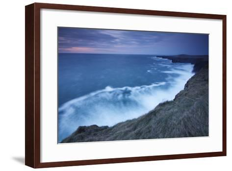 Cliffs and Coastline of Loop Head; County Clare Ireland-Design Pics Inc-Framed Art Print
