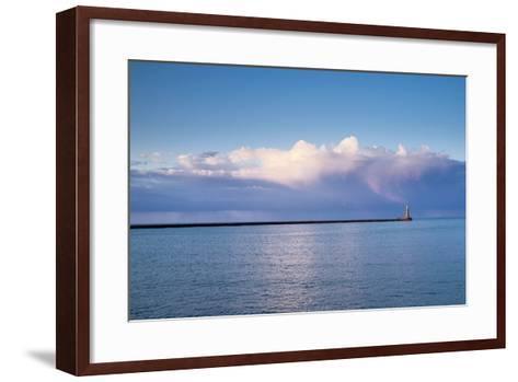 Roker Lighthouse; Sunderland Tyne and Wear England-Design Pics Inc-Framed Art Print