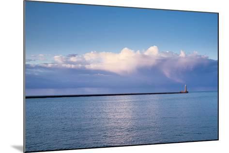 Roker Lighthouse; Sunderland Tyne and Wear England-Design Pics Inc-Mounted Photographic Print