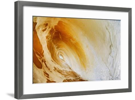 Hawaii, Maui, Makena, Beautiful Wave Breaking at the Beach-Design Pics Inc-Framed Art Print