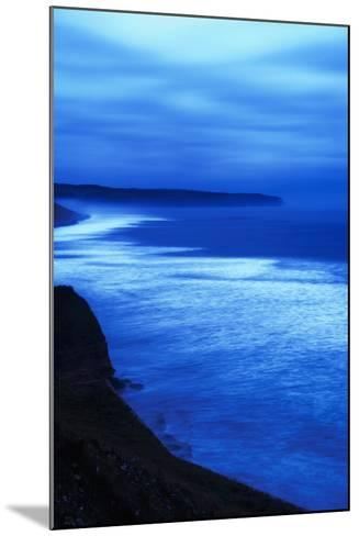 Sea at Dusk, Whitby,North Yorkshire,Uk-Design Pics Inc-Mounted Photographic Print