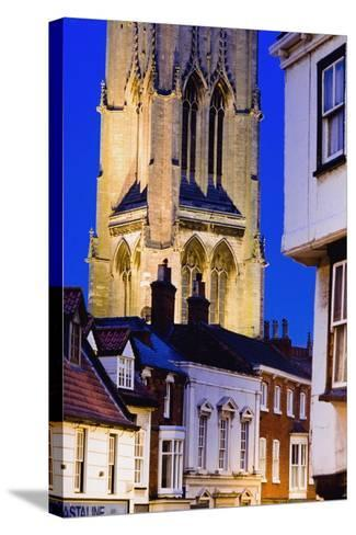 Exterior of St. James Church in Louth-Design Pics Inc-Stretched Canvas Print