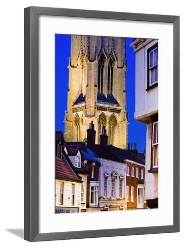 Exterior of St. James Church in Louth-Design Pics Inc-Framed Art Print