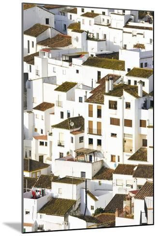 Elevated View of Moorish Houses; Casares, Malaga Province, Spain-Design Pics Inc-Mounted Photographic Print