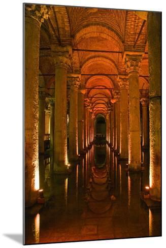 Basilica Cistern, Istanbul, Turkey; Ancient Underground Cistern-Design Pics Inc-Mounted Photographic Print