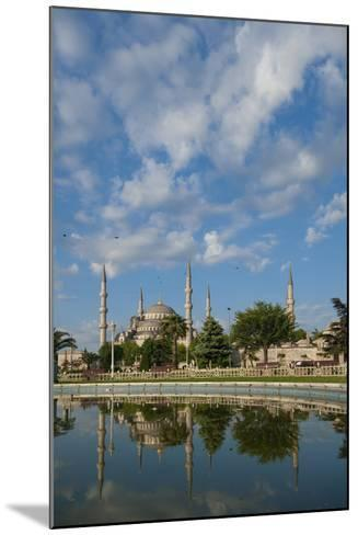 Looking across Pond to Sultanahmet or Blue Mosque-Design Pics Inc-Mounted Photographic Print