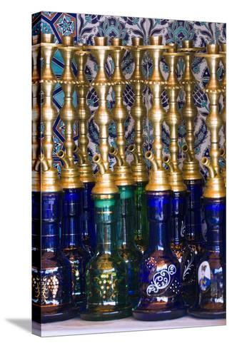 Istanbul, Turkey; Nargileh Water Pipes for Sale-Design Pics Inc-Stretched Canvas Print