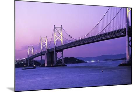 Seto Ohashi Bridge at Dusk-Design Pics Inc-Mounted Photographic Print