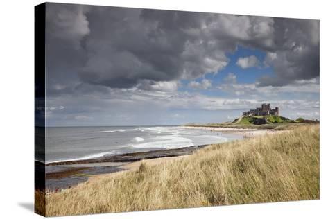 Bamburgh Castle; Northumberland, England-Design Pics Inc-Stretched Canvas Print
