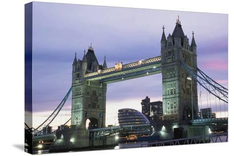 Tower Bridge, London,England-Design Pics Inc-Stretched Canvas Print