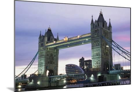 Tower Bridge, London,England-Design Pics Inc-Mounted Photographic Print