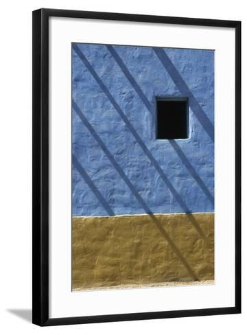 Shadow on Traditional Architecture-Design Pics Inc-Framed Art Print