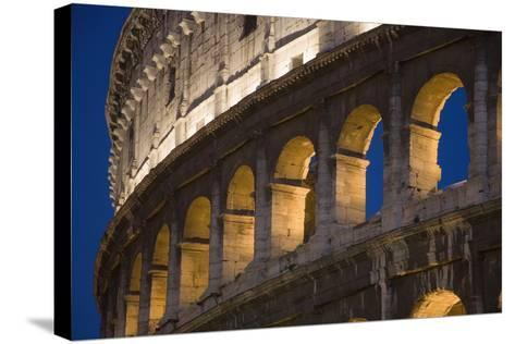 View of the Roman Coliseum in Rome-Design Pics Inc-Stretched Canvas Print