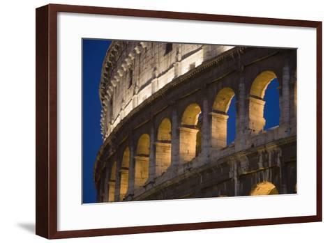 View of the Roman Coliseum in Rome-Design Pics Inc-Framed Art Print