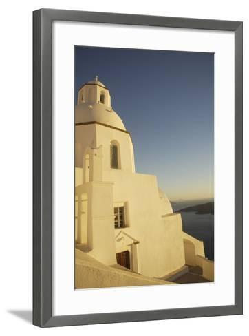 Whitewashed Building by Coastline-Design Pics Inc-Framed Art Print