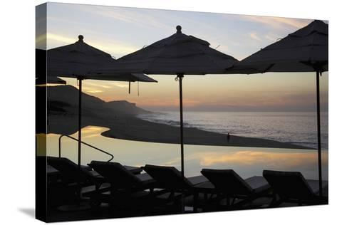 Sunrise at Beach of Los Cabos-Design Pics Inc-Stretched Canvas Print