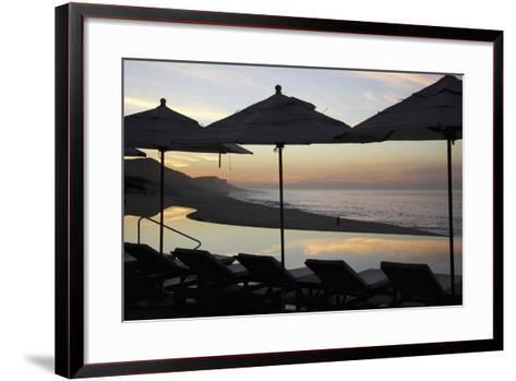 Sunrise at Beach of Los Cabos-Design Pics Inc-Framed Art Print
