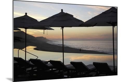 Sunrise at Beach of Los Cabos-Design Pics Inc-Mounted Photographic Print
