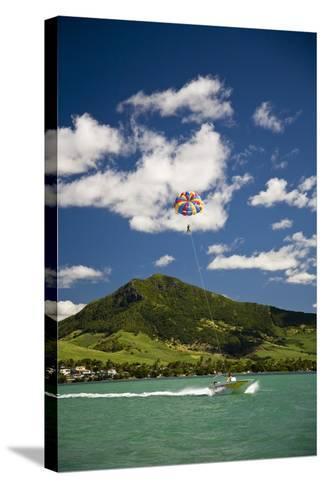Parasailing; Mauritius-Design Pics Inc-Stretched Canvas Print