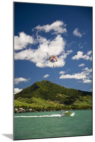 Parasailing; Mauritius-Design Pics Inc-Mounted Photographic Print