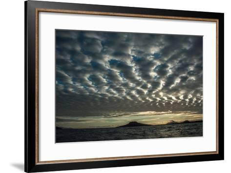 The Channel Between Sombrero Chino Island and Santiago Island in the Galapagos-Karen Kasmauski-Framed Art Print