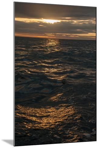 Sunset Above the Waters Off Isabela Island in the Galapagos-Karen Kasmauski-Mounted Photographic Print