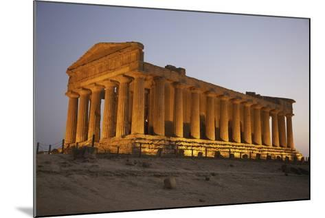 Temple of Concordia in the Valley of the Temples; Agrigento, Sicily, Italy-Design Pics Inc-Mounted Photographic Print