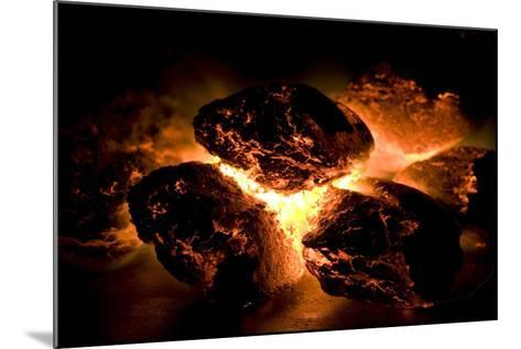 Glowing Hot Charcoal-Rebecca Hale-Mounted Photographic Print