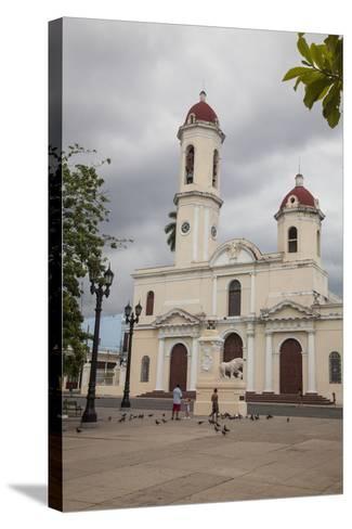 The Catedral De La Purisima Concepcion Built in 1869-Michael Lewis-Stretched Canvas Print