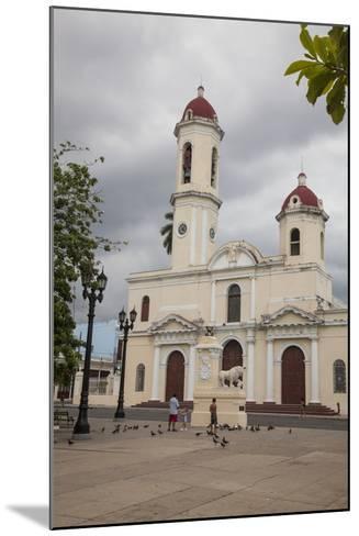 The Catedral De La Purisima Concepcion Built in 1869-Michael Lewis-Mounted Photographic Print