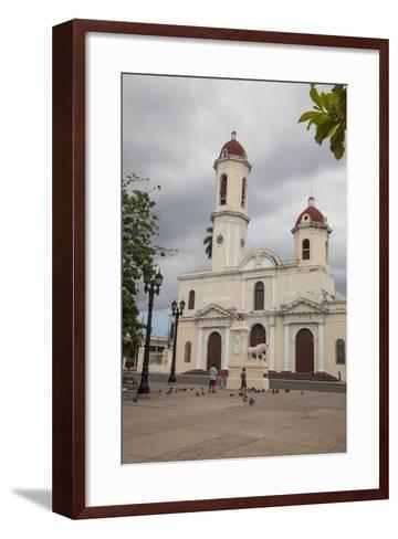 The Catedral De La Purisima Concepcion Built in 1869-Michael Lewis-Framed Art Print