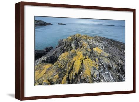 Iceberg Point at the Southern Tip of Lopez Island Overlooks the Strait of Juan De Fuca-Michael Melford-Framed Art Print