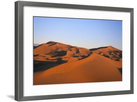 Sand Dunes in the Desert Near Merzouga, Morocco-Rebecca Hale-Framed Art Print