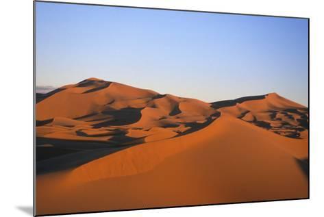 Sand Dunes in the Desert Near Merzouga, Morocco-Rebecca Hale-Mounted Photographic Print