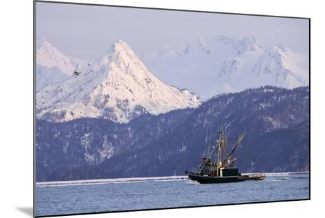 Commercial Fishing Boat-Design Pics Inc-Mounted Photographic Print