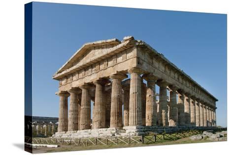 Hera, Paestum, Campania, Tyrrhenian Coast, Italy-Design Pics Inc-Stretched Canvas Print